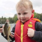 Boy&#39s Wonderful Response To Catching His 1st Fish
