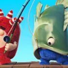 Oddbods | Fishy Organization | Humorous Cartoons For Youngsters
