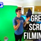 Inexperienced Display screen Filming BLOOPERS?!?! – Guiding the Scenes VLOG