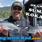 Okanagan Summertime Kokanee | Fishing with Rod