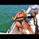 Most effective Fishing Are unsuccessful Video clip: Significant SHARK attempts to pull female overboard 2 times
