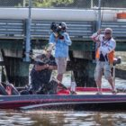 Pennsylvania's Thompson Maintains Guide at T-H Maritime BFL All-American on the Potomac River Offered by Standard Tire