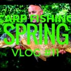 CARP FISHING IN SPRING – FISHING THE ALIEN LAKE – VLOG #11 😀