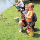 'Take a Child Fishing Day' is unique time for community households | Area Information