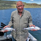 The fishing is excellent at Ririe Reservoir and the Kokanee are biting