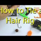 How to tie a fundamental hair rig for carp fishing