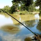 Khmer Woman Fishing At Siem Experience Cambodia