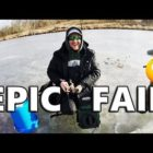 EPIC Fishing Are unsuccessful! Fish STEALS Rod on Underwater Digicam! Nuts!