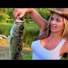 Place Lady FISHING for BASS, I was TAGGED!!