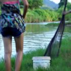 Awesome attractive female Fishing in Cambodia – How to Fishing at battambang ( aspect 239)