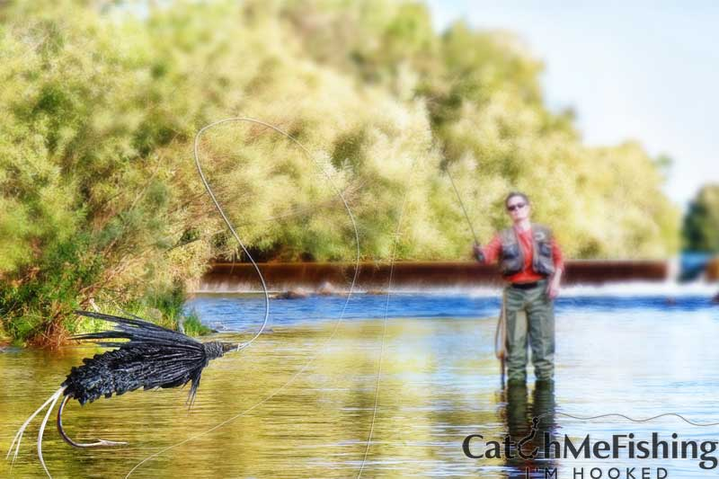 casting for bass fly fishing