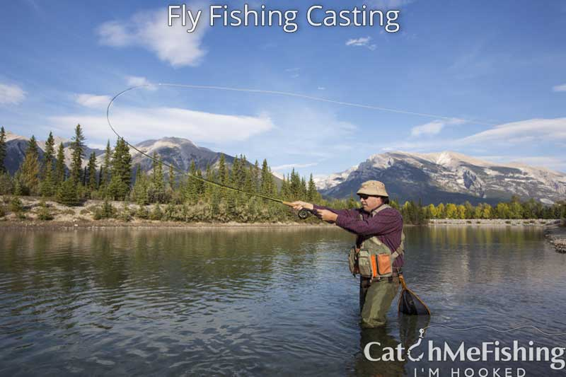 Fly fishing casting for beginners, casting coach