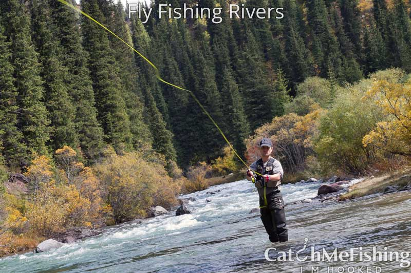 Fly fishing rivers for beginners