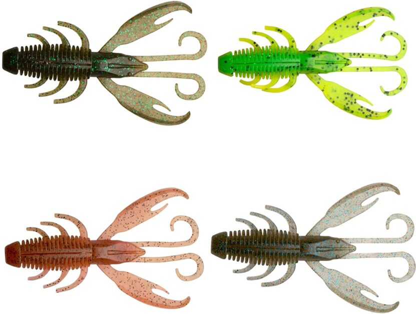 Creature bait for bass in the summer