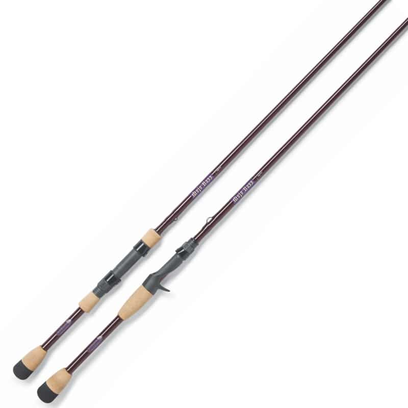 St Croix MJC68MHF Mojo Bass Graphite Casting Fishing Rod with IPC Technology Review