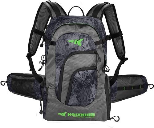 Kingkast Day Tripper Fishing Tackle Storage Bag Best Fishing Backpacks