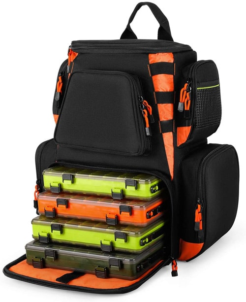 Magreel 25L Fishing Tackle Backpack Best Fishing Backpacks
