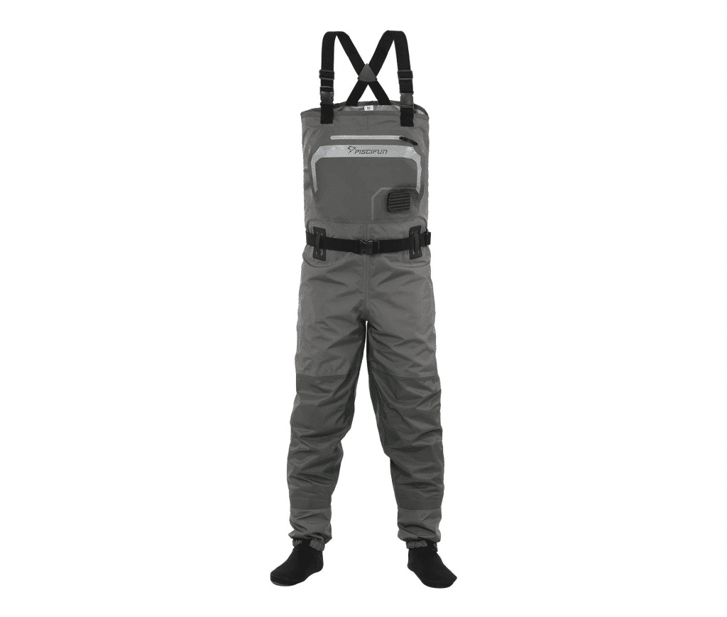 Piscifun Breathable Fishing Chest Waders Fly Fishing