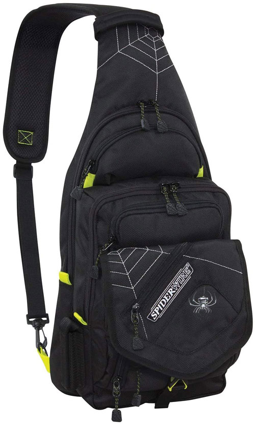 Spiderwire Sling Fishing Tackle Backpack Best Fishing Backpacks