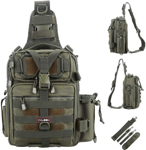 YVLEEN Fishing Tackle Backpack Best Fishing Backpacks